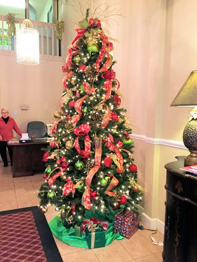 Main Lobby Christmas Tree